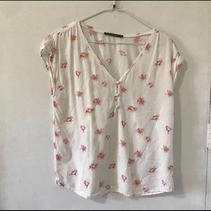 Abercrombie and Fitch Floral Blouse
